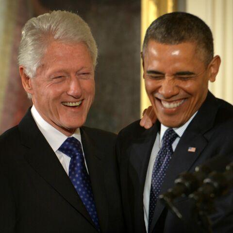 Barack Obama et Bill Clinton: Ça chambre sur Twitter