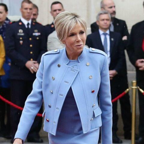PHOTOS – Brigitte Macron ne jure que par Louis Vuitton: au voyage au Maroc, elle fait son défilé