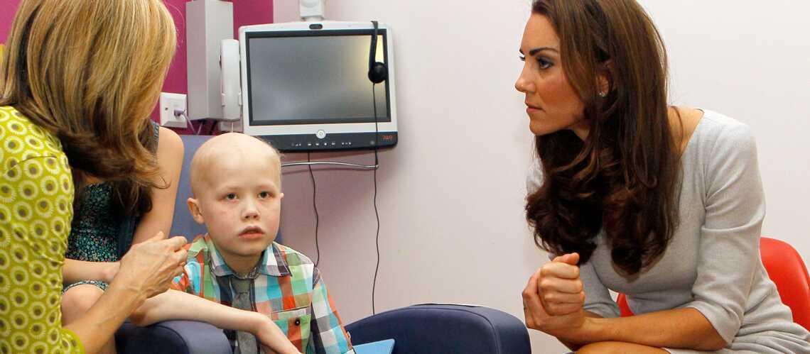 La princesse Kate émue par le décès du petit Fabian