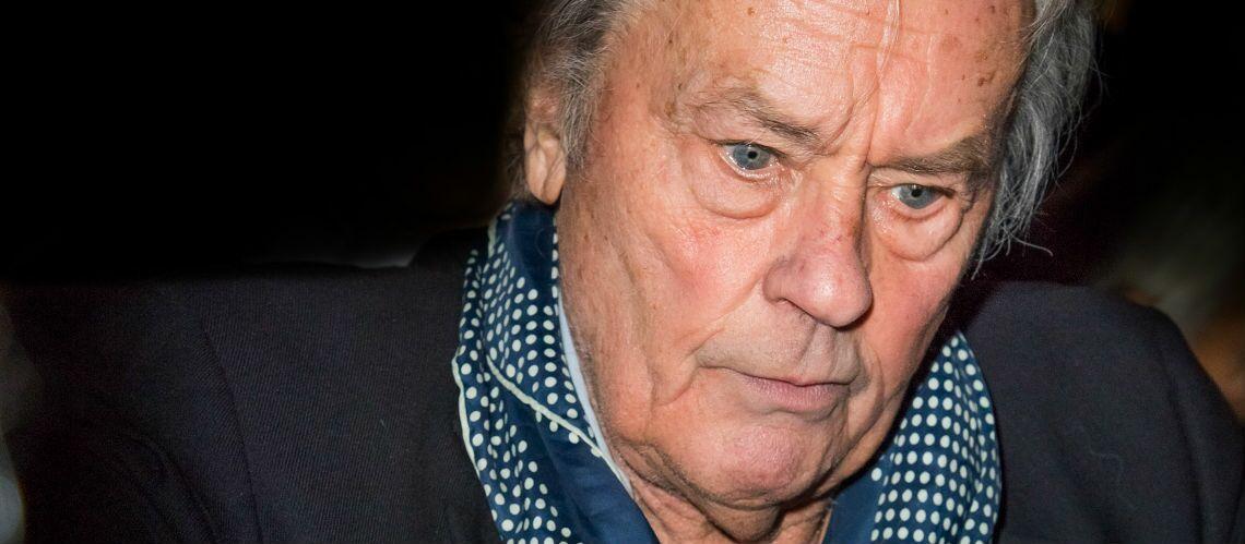 PHOTOS – Alain Delon, sa première apparition publique depuis la disparition de Mireille Darc