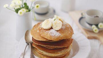 Pancakes coco bananes