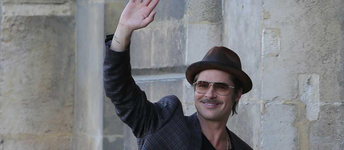 Brad Pitt: «Nos enfants parlent déjà français»