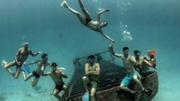 PHOTOS – Camille Lacourt, Florent Manaudou, Frédérick Bousquet: vacances entre potes à Tahiti