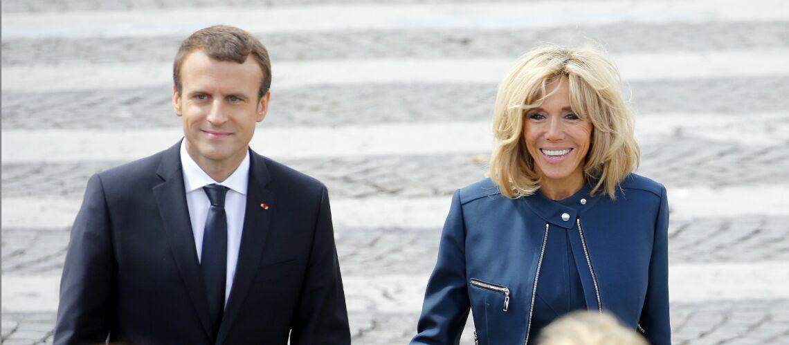Exclu Emmanuel Macron De Retour Du Sommet A Bruxelles Pour Feter