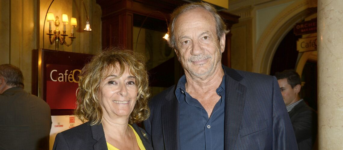 PHOTOS – Patrick Chesnais (Noir enigma), qui est sa femme Josiane Stoléru?