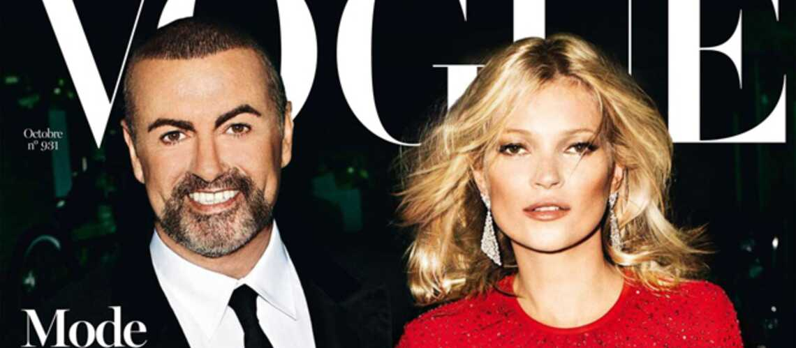Kate Moss et George Michael cover friends