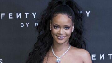 PHOTOS – Rihanna, sublime en robe de princesse, adopte la queue-de-cheval haute