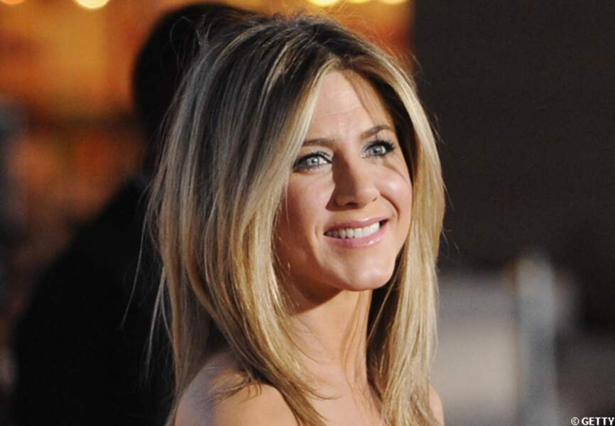 Le secret du sourire de Jen? L'amour, of course!