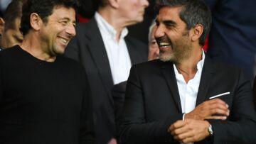 Patrick Bruel supporter déchaîné du PSG avec ses deux fils et Ary Abittan