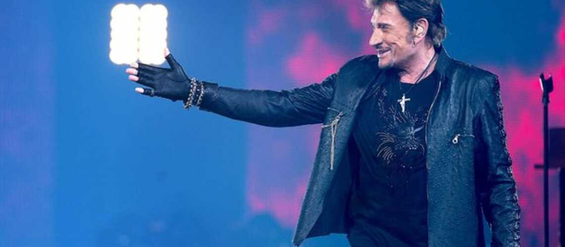 Johnny Hallyday enflamme encore les scènes