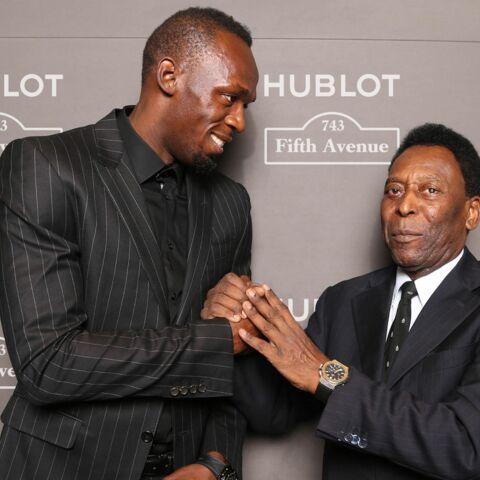 Usain Bolt et Pelé: un duo gagnant pour Hublot à New York