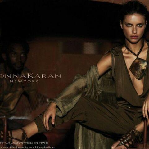 Donna Karan, la publicité controversée