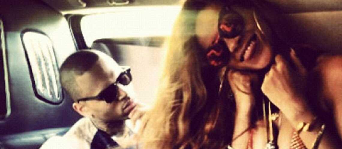 Rihanna et Chris Brown: vacances en amoureux!