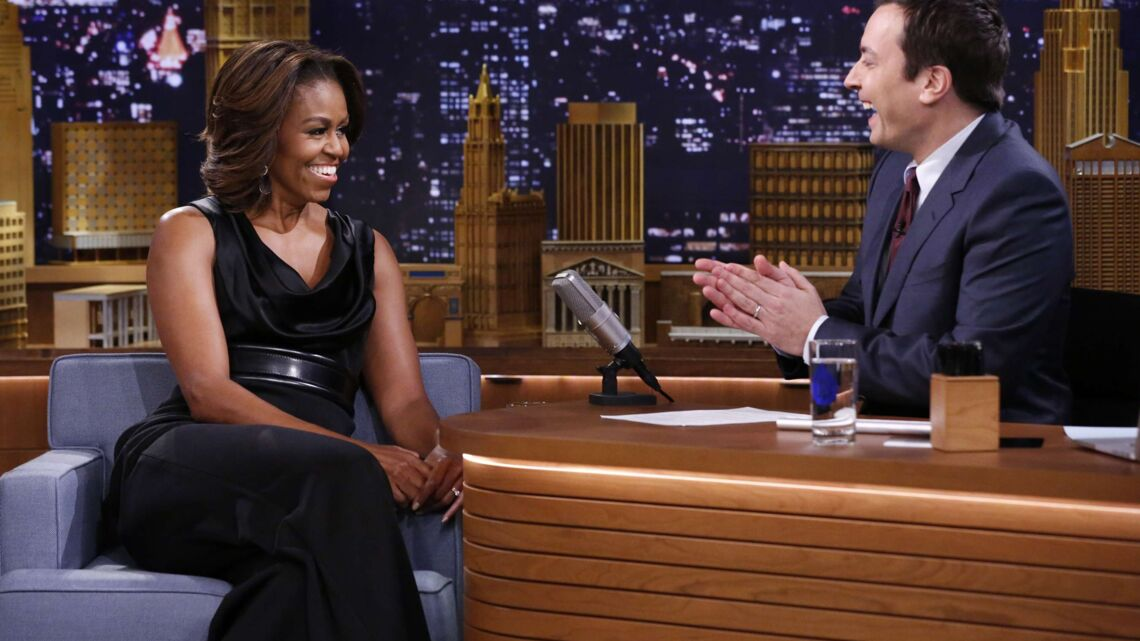 Michelle Obama fait le show chez Jimmy Fallon