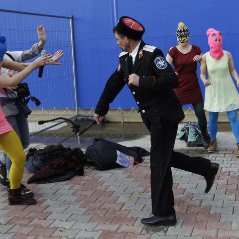 JO: Coups de fouet pour les Pussy Riot