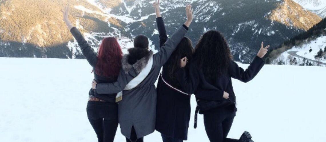 PHOTOS – Alicia Aylies (Miss France) et trois anciennes Miss en vacances à la montagne