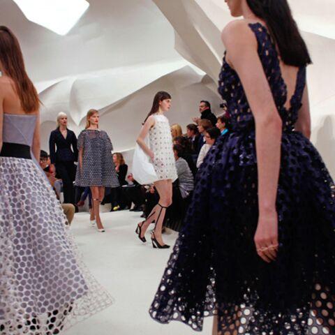 Haute couture: Les silhouettes pétales de Dior