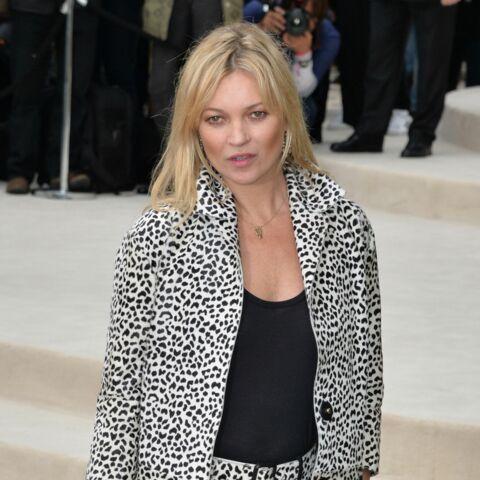 Kate Moss sort les griffes en léopard