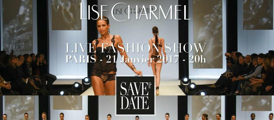 Regardez le défilé Lise Charmel en direct