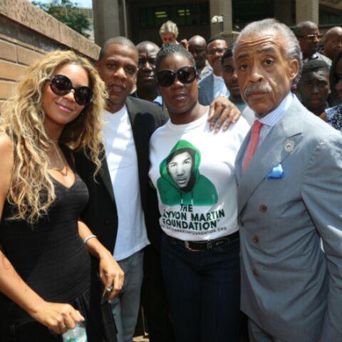 Photos – Beyoncé et Jay-Z manifestent pour Trayvon Martin