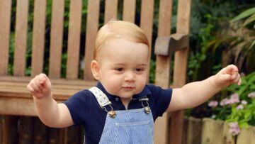 Baby George: pas bête le futur souverain!