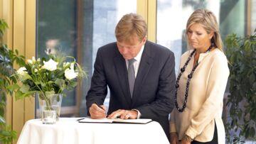 MH17: L'hommage de Maxima et Willem-Alexander des Pays-Bas