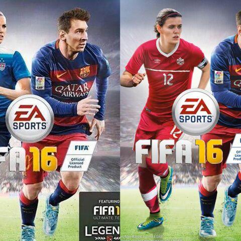 FIFA 16: voilà les filles!