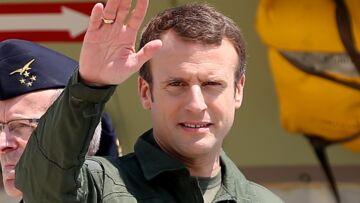 PHOTOS – Emmanuel Macron ou Tom Cruise dans Top Gun? Le président à la cote en uniforme de pilote