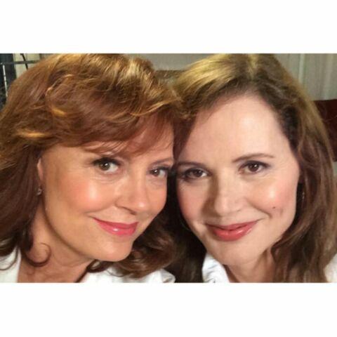 Susan Sarandon et Geena Davis, à l'origine du selfie