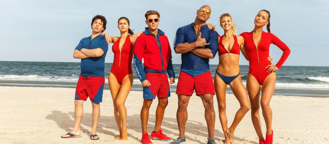 PHOTOS – Alerte à Malibu: on sort le maillot-une pièce rouge cet été