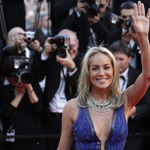 Photos- A Cannes, Sharon Stone est chez elle