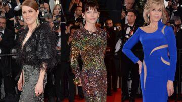 Red carpet: Être belle comme Sophie Marceau ou Jane Fonda, c'est possible