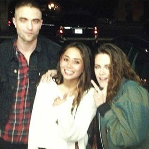 Robert Pattinson et Kristen Stewart: les retrouvailles