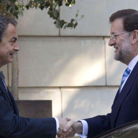 Zapatero passe l'arme à droite