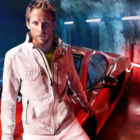 Jenson Button roule pour Hugo Boss