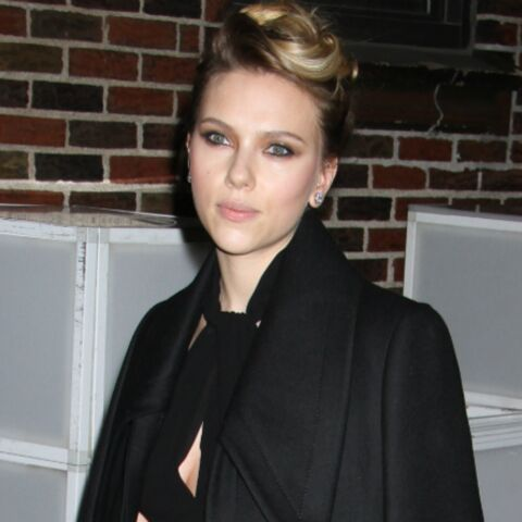 Scarlett Johansson, Son french amour