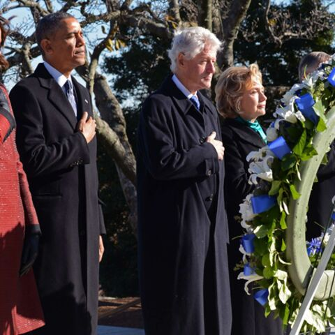 Photos- Les Obama et les Clinton rendent hommage à JFK