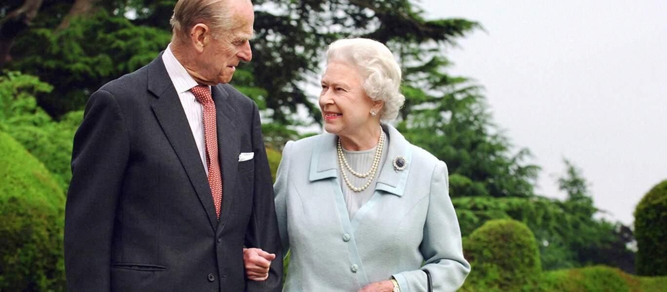 ELIZABETH II et le PRINCE PHILIP célèbrent le 20 novembre leurs 69ème anniversaire de mariage