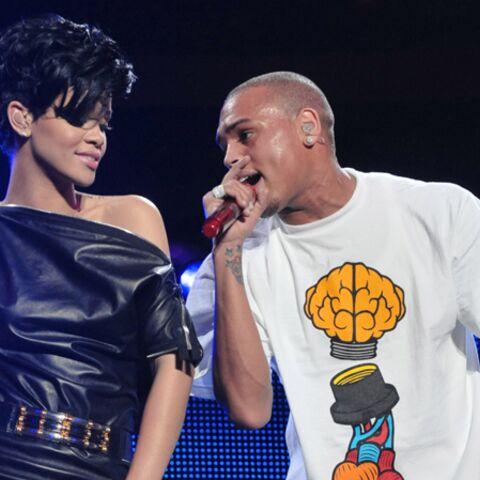 Chris Brown clashe Rihanna