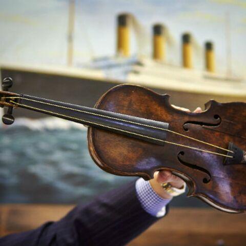 Cher, très cher, violon du Titanic