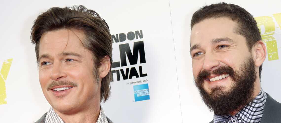 Shia LaBeouf: «Brad Pitt est comme mon mari»