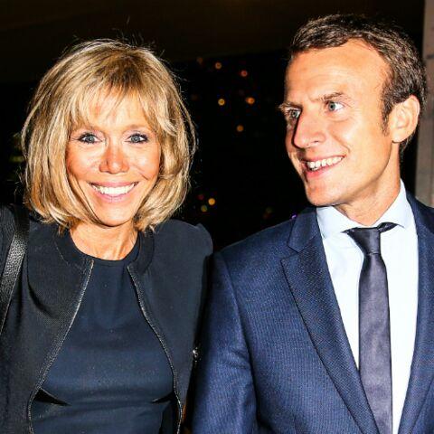 Emmanuel Macron et Brigitte Trogneux, leur tête-à-tête en amoureux