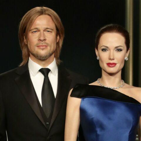 Les statues de Brad Pitt et Angelina Jolie séparées au Musée Tussauds