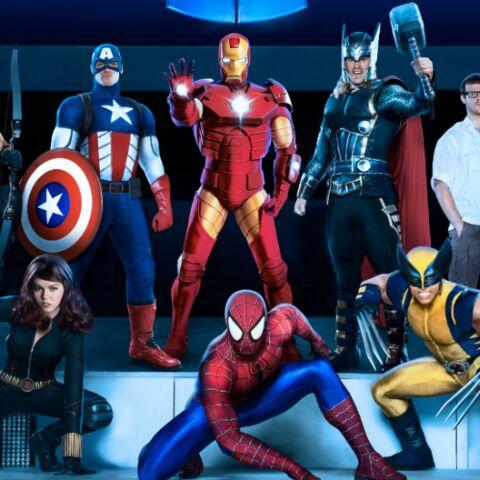 Les super-héros Marvel débarquent en force à Paris