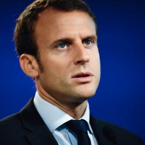 Brigitte Macron aux petits soins pour son mari Emmanuel Macron