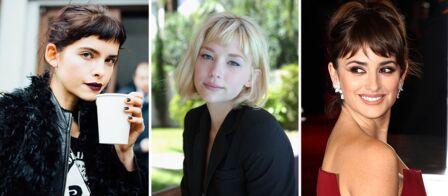 Coupe De Cheveux 30 Facons De Porter La Frange Courte Gala