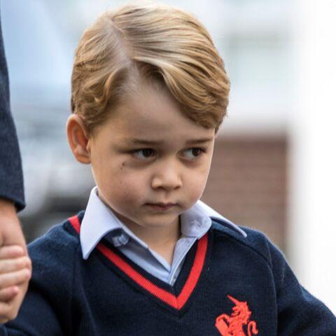 À 4 ans, George a déjà compris qu'il est un prince