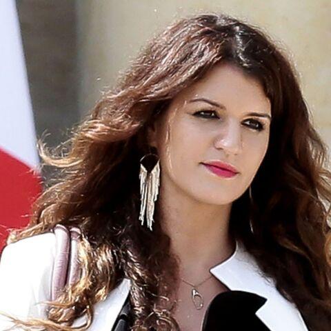 PHOTO – Marlène Schiappa, secrétaire d'État à l'égalité femmes-hommes, s'attaque au sexisme des sacs Auchan