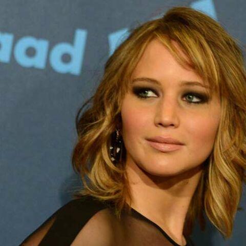 Jennifer Lawrence, son carré wavy sexy
