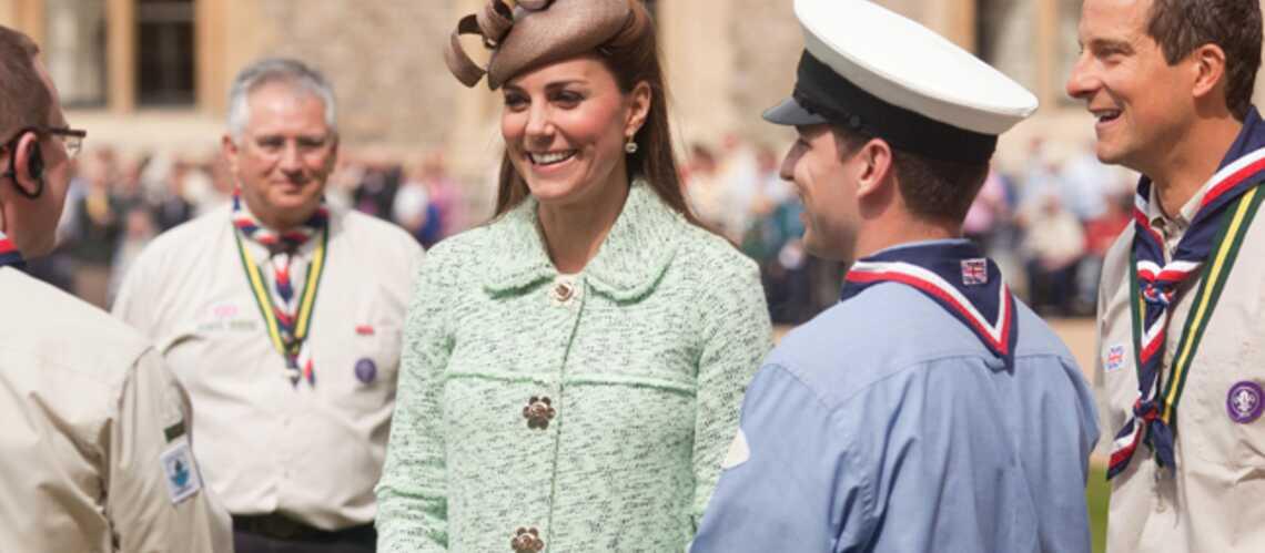 Photos- Kate Middleton à Windsor avec les scouts